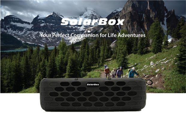 Solar-Powered HiFi Speakers