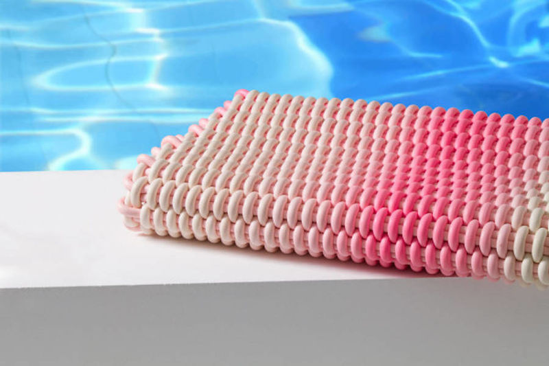 Crocheted Silicone Carpets