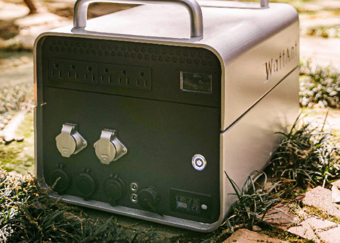 Swappable Battery Power Stations