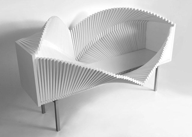 Undulating Modular Furniture