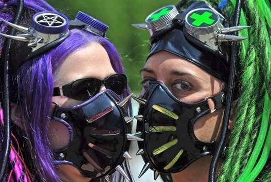 Gothic Gas Masks