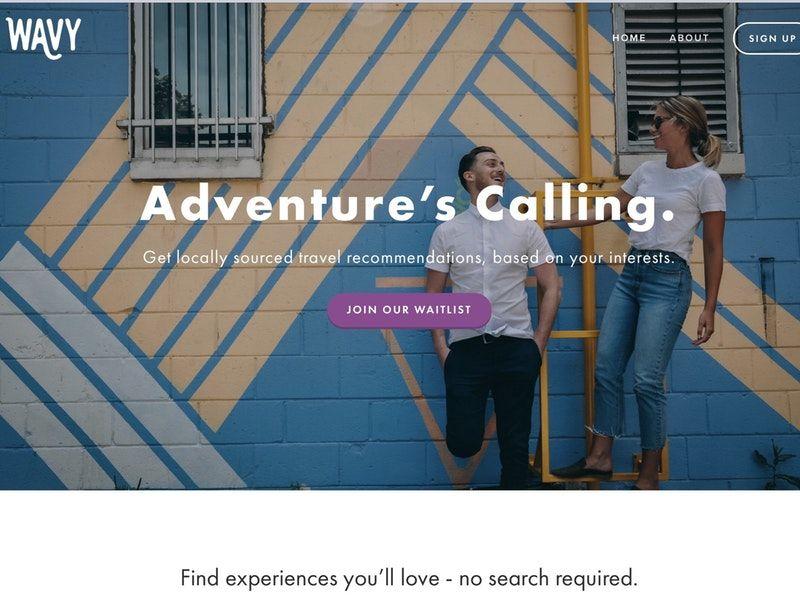 Spontaneous Adventure Experience Apps