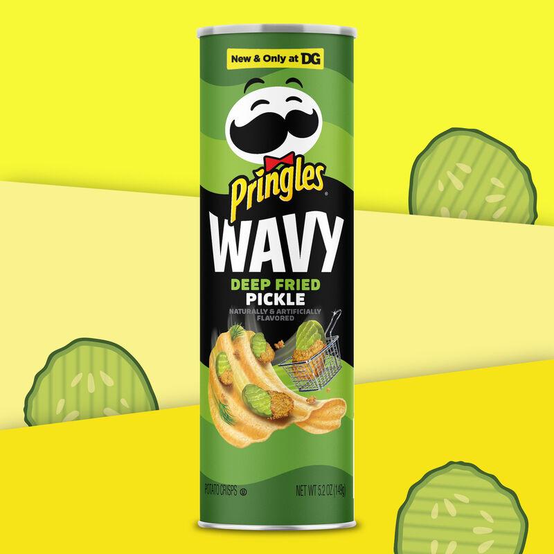 Fried Pickle-Flavored Crisps