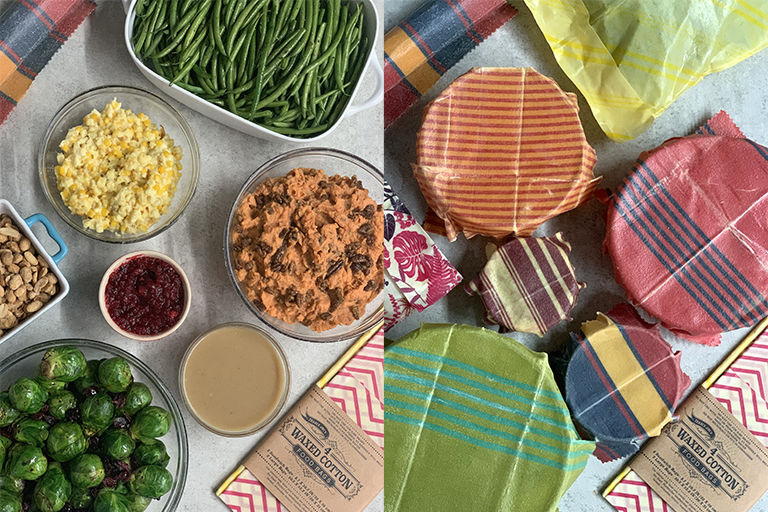 Reusable Cotton Food Wrappers