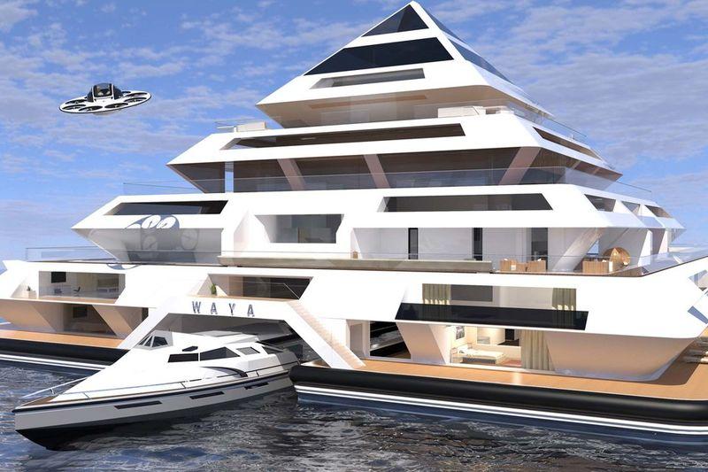 Futuristic Floating Communities