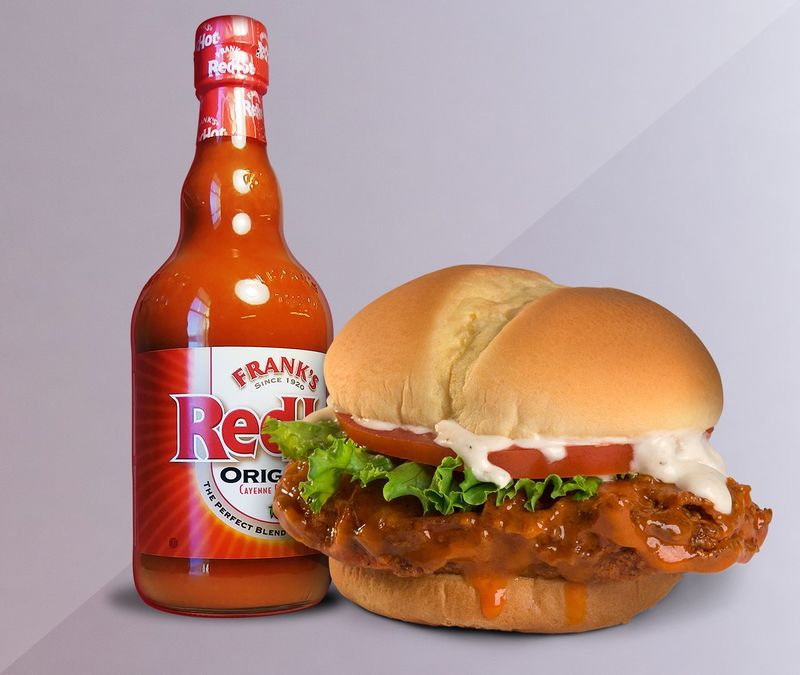 Co-Branded Spicy Chicken Sandwiches