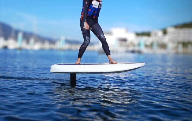Elegant Electric Hydrofoil Surfboards