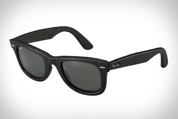 Sophisticated Leather Eyewear
