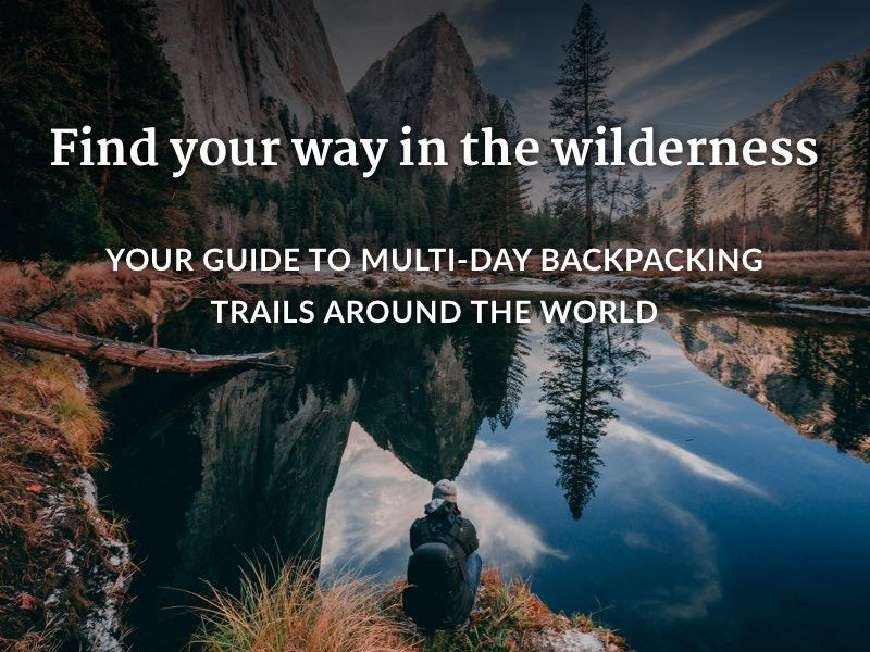 Wilderness Way-Finding Apps