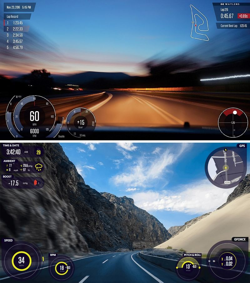 High-Speed Dashboard Cameras