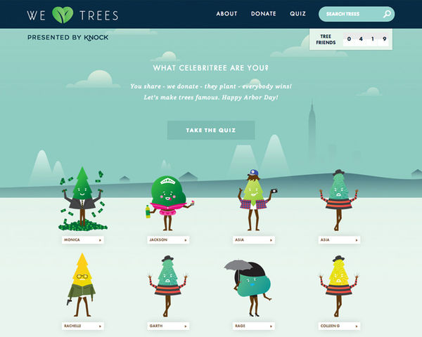 Virtual Forest Campaigns