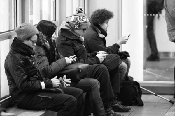Perpetual Phone User Portraits