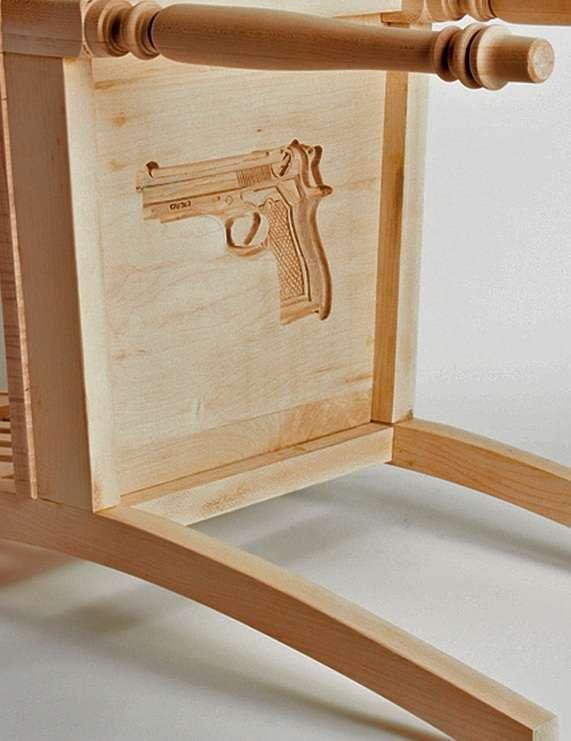 Revolver-Concealing Seats