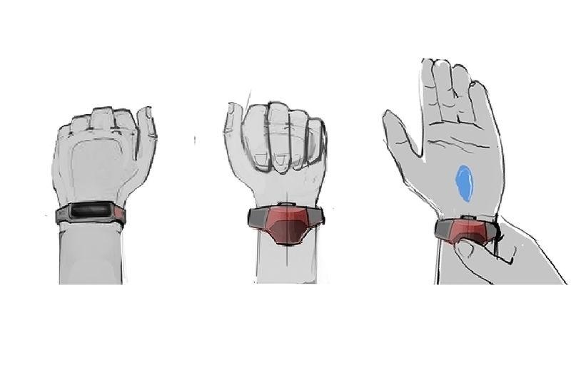 Wrist-Worn Sanitizer Dispensers