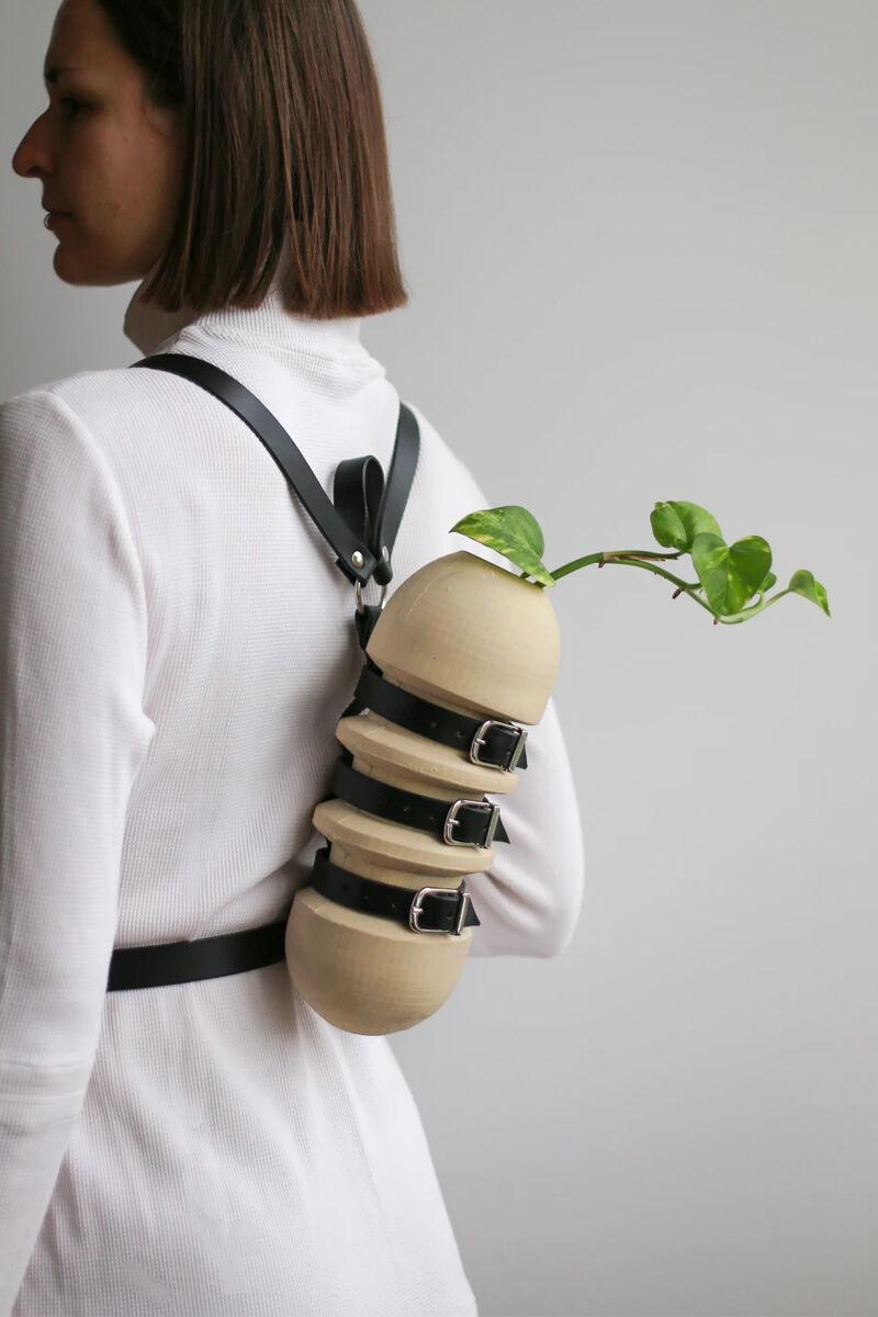 Fashion-Forward Wearable Vases