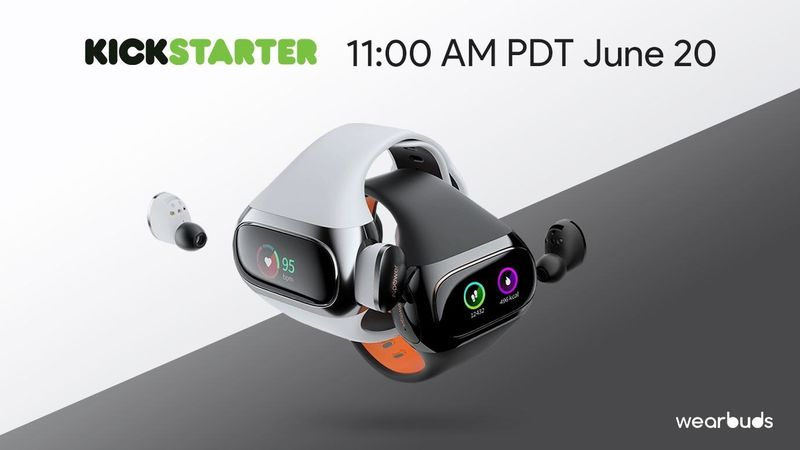 In-Wristband Wireless Earbuds