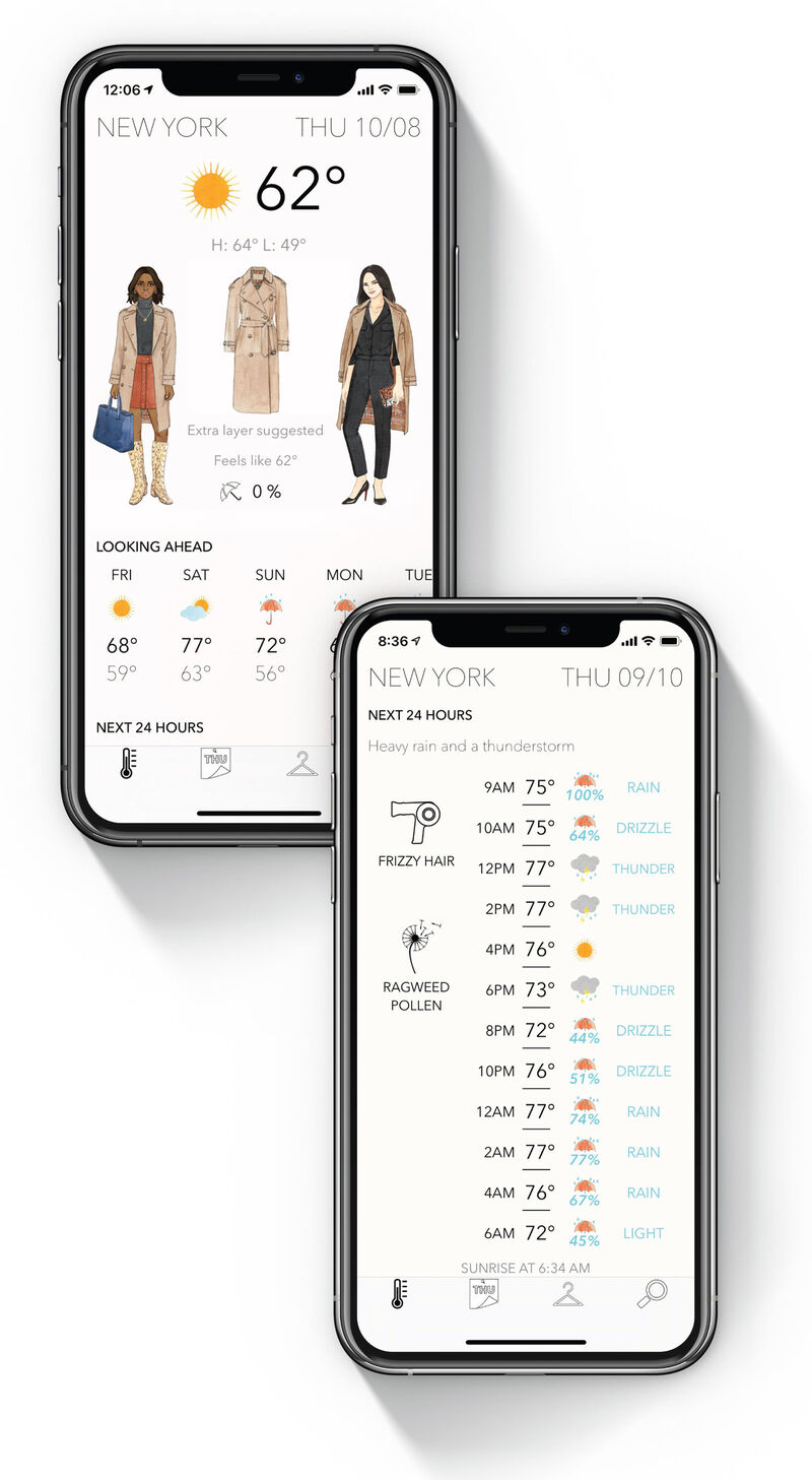 Fashion-Focused Weather Apps