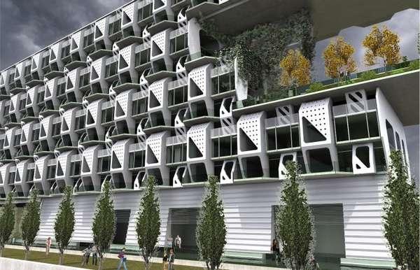 Modular Pre Fab Apartments
