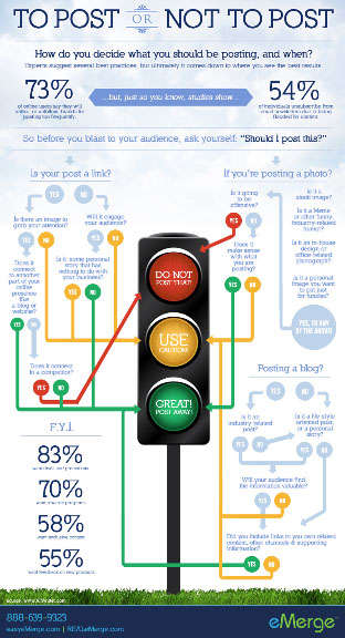 Etiquette Web Posting Infographics