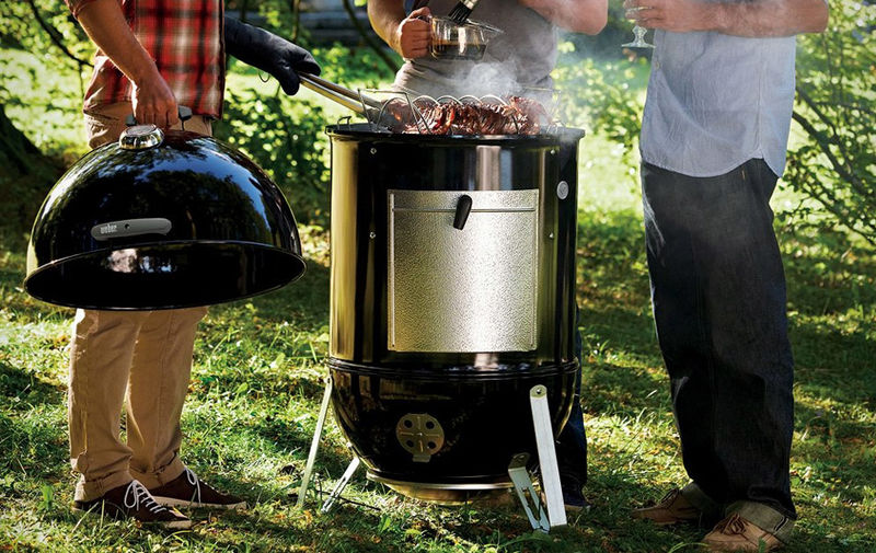 Specialized Summertime Meat Smokers Weber Smokey Mountain Cooker,Concrete Floors In Kitchen