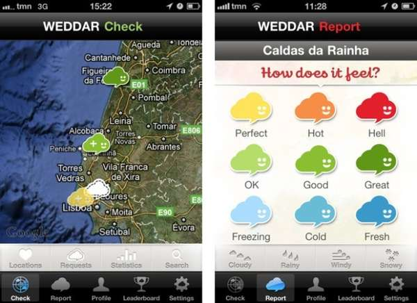 Crowdsourced Weather Apps