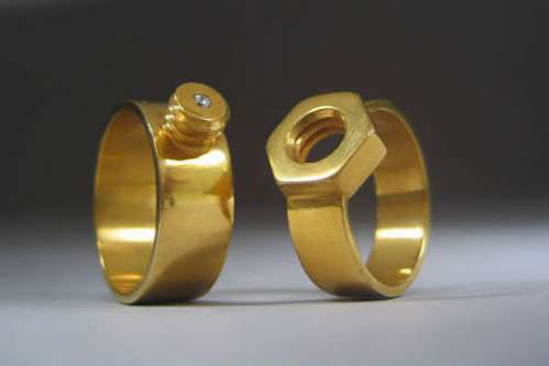 Wedding Bands for Gearheads