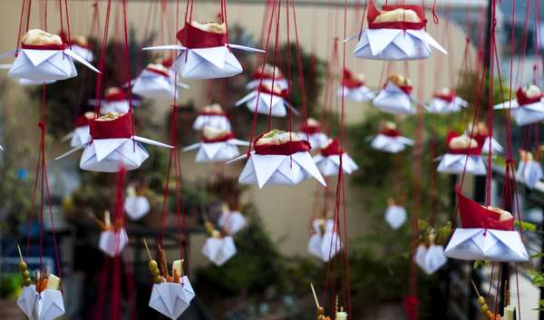 Floating Origami Feasts