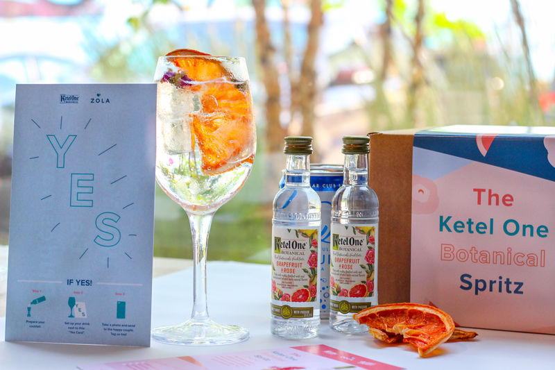 Wedding-Themed Cocktail Kits