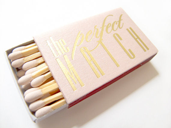 Precious Personalized Wedding Matchboxes