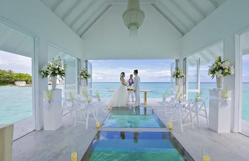 Floating Wedding Pavilions