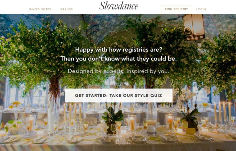 Curated Wedding Registries