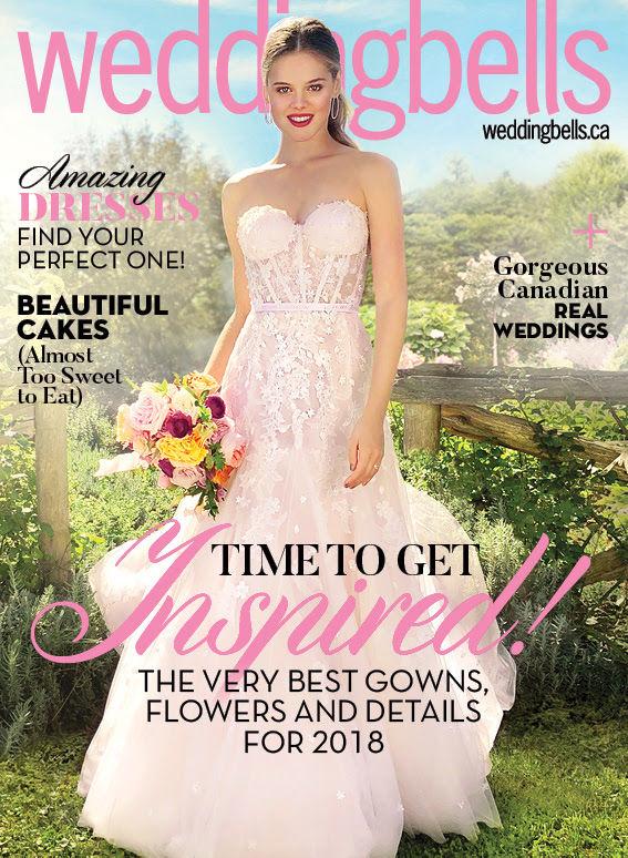 Smartphone-Shot Bridal Magazines