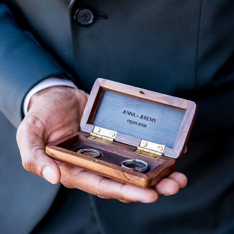 Artisan Wedding Ring Boxes