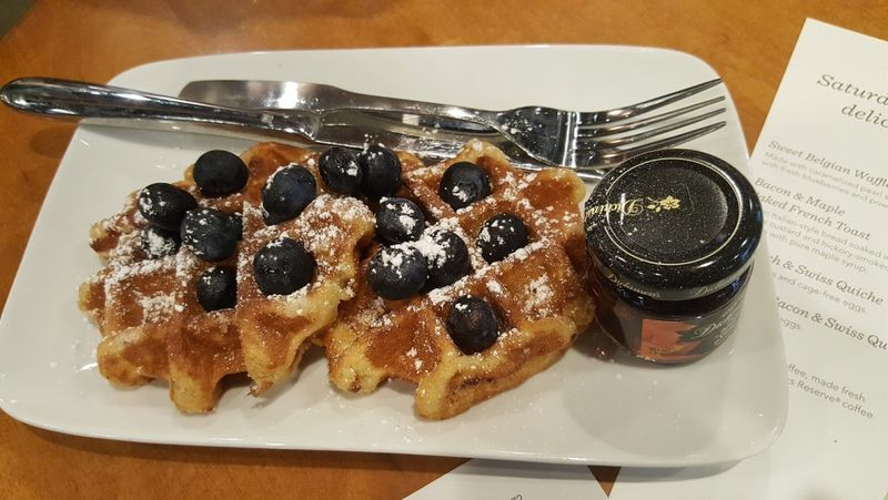 Coffee Shop Brunch Menus