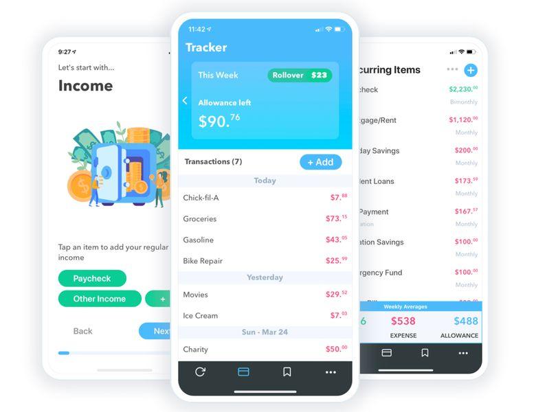 Weekly Allowance Finance Apps