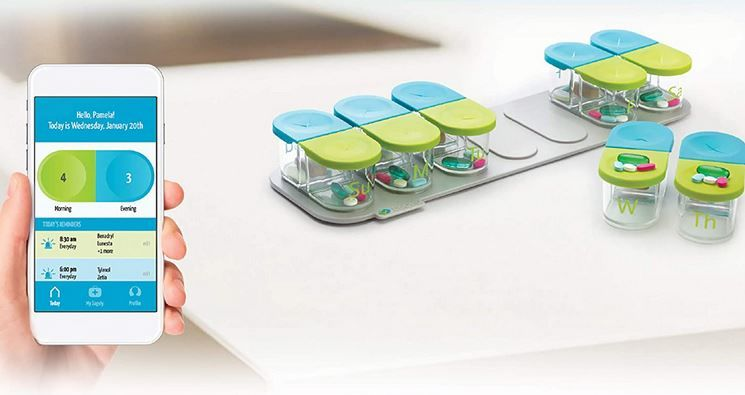 Magnetic Medication Organizers