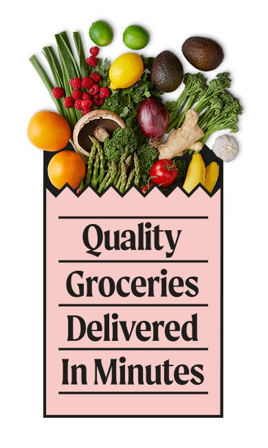 Quality On-Demand Grocery Deliveries