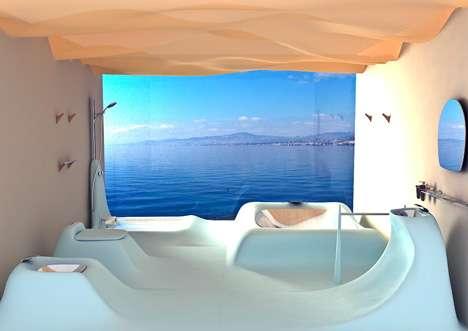 Curvy Sculpted Bathrooms