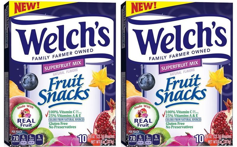 Super Fruit-Infused Prepackaged Treats