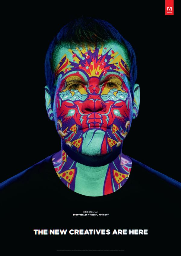 Dynamic Face Paint Ads