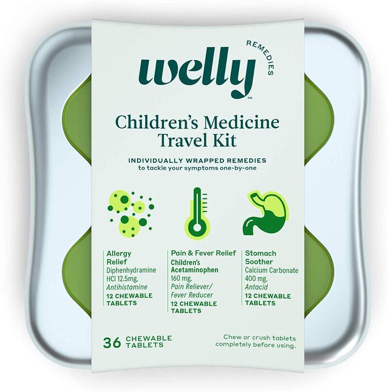 Kid's Travel Medicine Kits