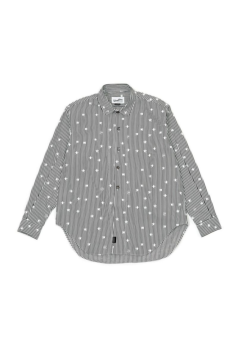 Punk Rock-Inspired Buttoned Shirts