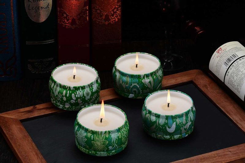 Pure-Soy Wax Outdoor Candles