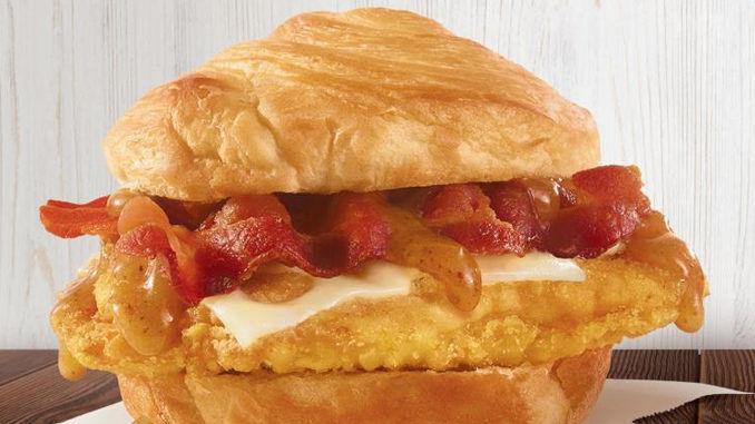 Maple Chicken Croissant Sandwiches