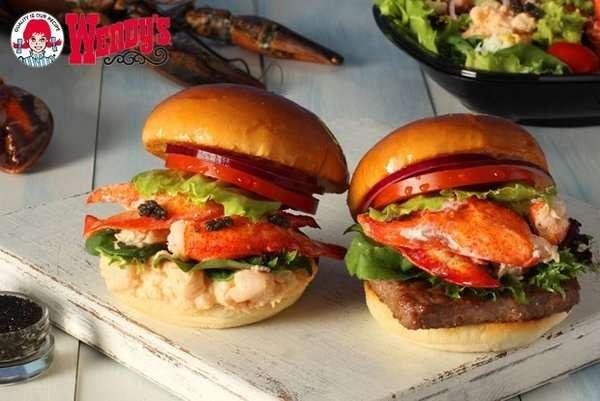 Gourmet Sea-Loving Fast Food