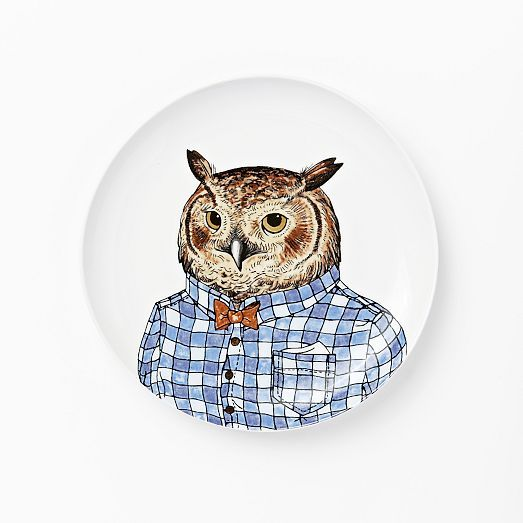 Dapper Animal Dishware