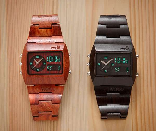 Reclaimed Wood Timepieces
