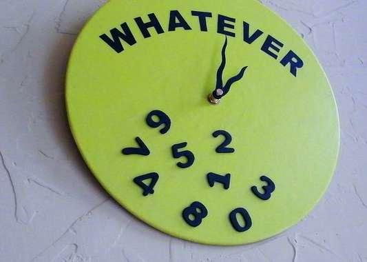Apathetic Analogue Timepieces