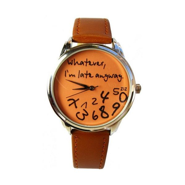 Ironic Empathetic Timepieces