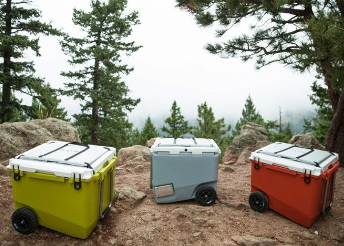 Rugged Ice-Retaining Coolers